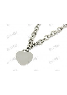 Collana cuore ByClay