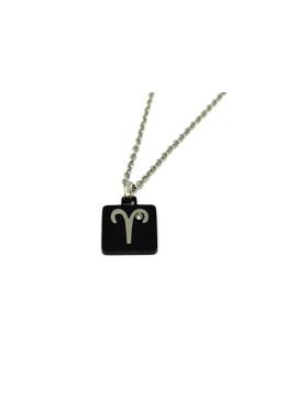 Collana Ariete Zodiaco Quadrata